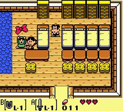 Imagem demonstrando a troca de itens no jogo.