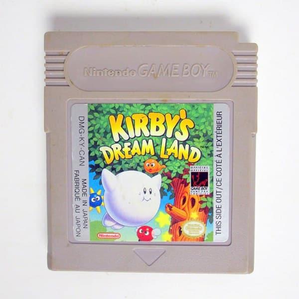 Cartucho Kirby's Dream Land para o Game Boy